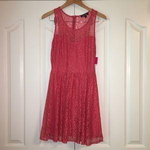 NWT Heartsoul Coral Sleeveless Dress Size Medium